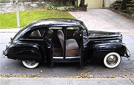 1940 Plymouth Sedan - Yes, its got suicide doors