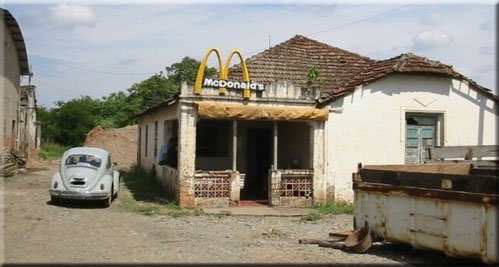 McDonald's has undergone some renovations